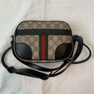 NWT Authentic Gucci Crossbody Camera Bag Ophelia